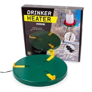 drinker heater plate