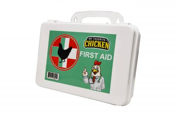 My Favorite Chicken First Aid Kit