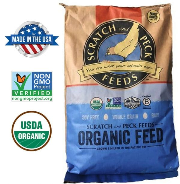 organic chicken feed
