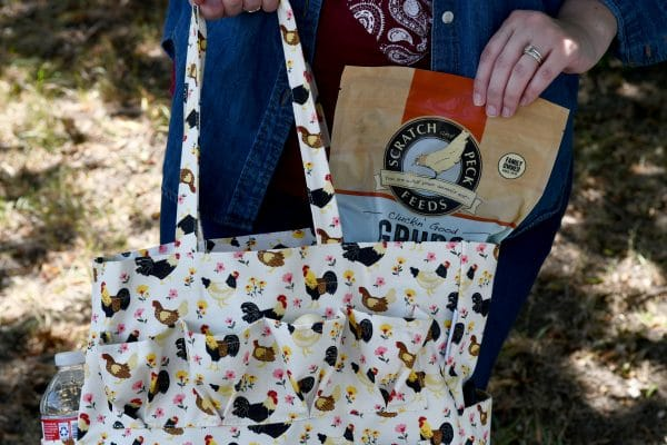 egg collecting bag treats