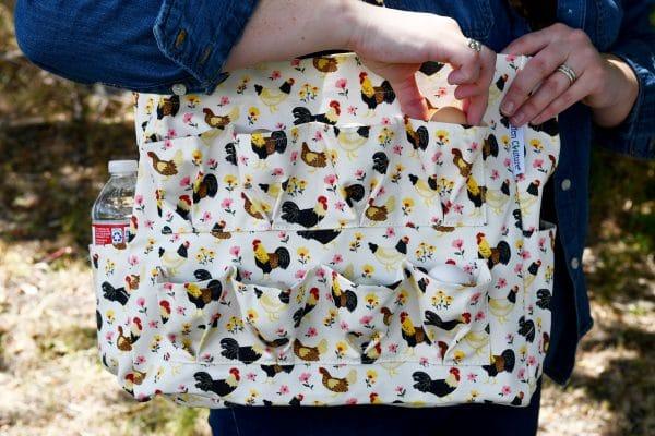 egg collecting bag