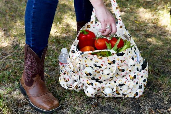 harvest vegetable bag