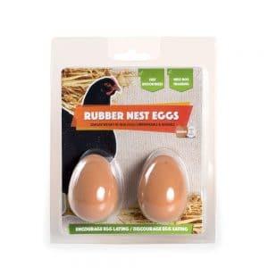 brown rubber nest eggs