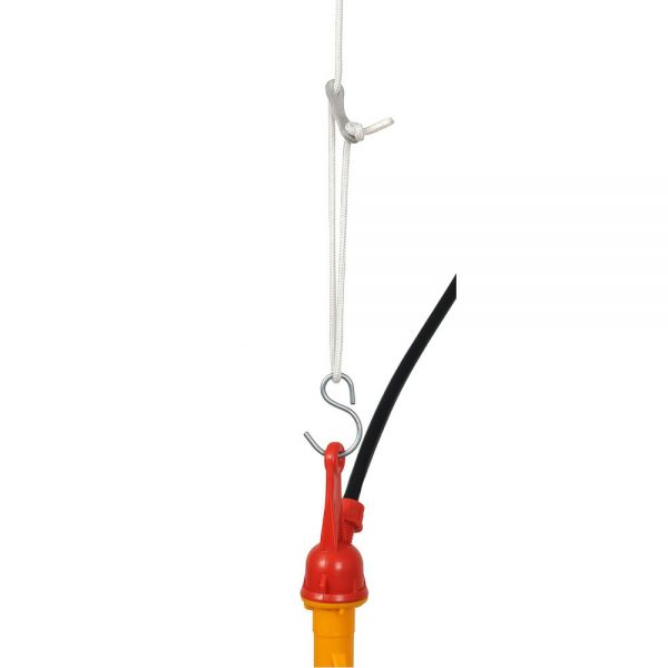 plasson broiler poultry drinker hanging cable
