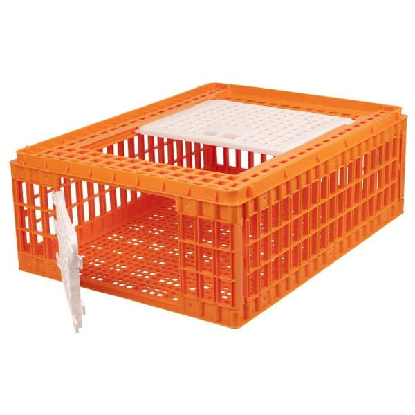 Poultry transport crate cage