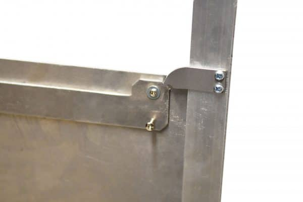 self locking door
