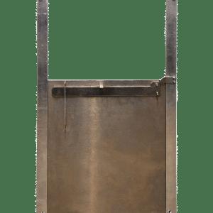 metal locking door