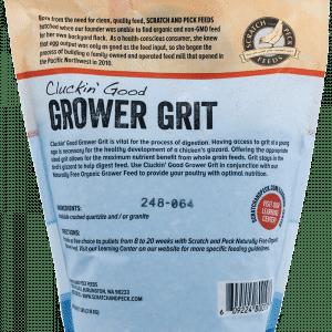 Grower Grit back