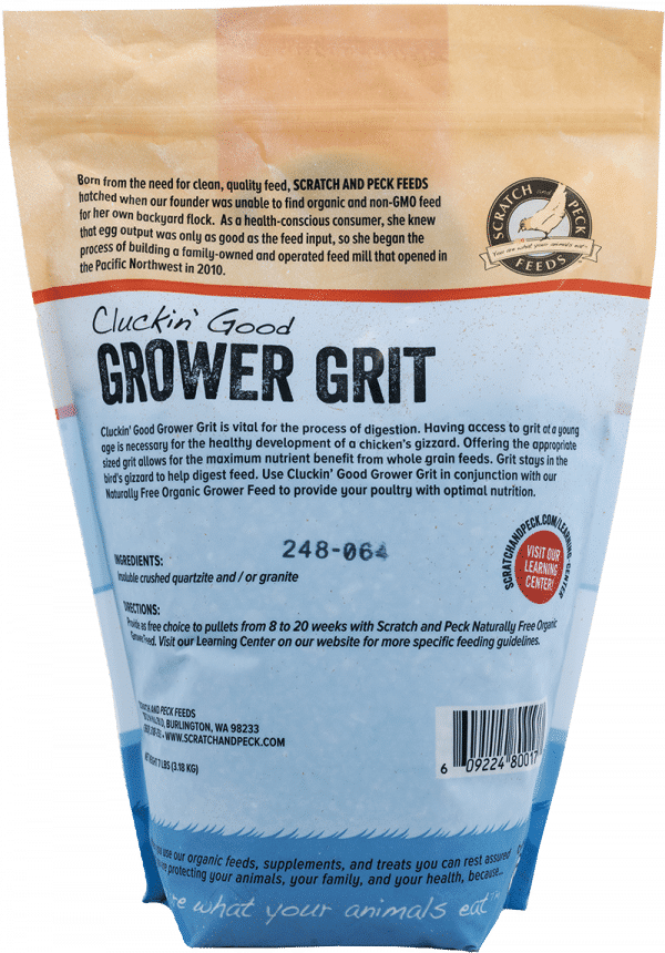 Grower Grit back