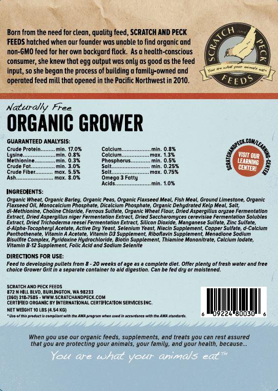 Grower label